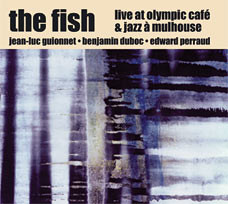 Live at Olympic Café & Jazz à Mulhouse - CD cover art