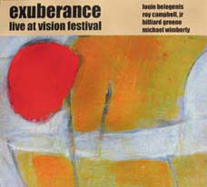 Live at Vision Festival - CD cover art